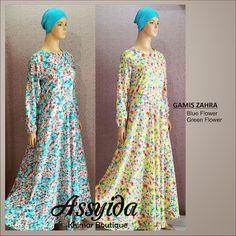 ASSYIDA (Khimar Boutique): GAMIS ZAHRA (Motif)