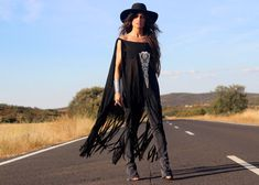 Fab boho dress and style via Madame de Rosa!