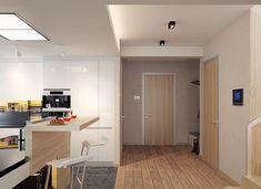 Karat - zdjęcie 10 Modern Family House, Modern House Design, 2 Storey House Design, Mediterranean Style Homes, Architect House, Facade House, Architecture Design, House Plans, Construction