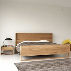 Oak Nordic Bed: Ethinicraft. $2600