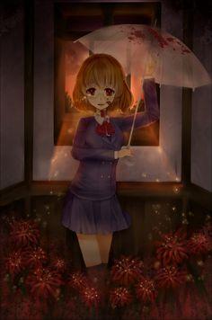 Imagen de anime, blood, and manga