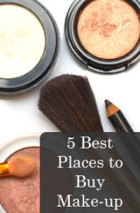 5 Best Places to Buy Make-up / via my fashion chronicles / > I would add HSN & QVC to her list; due to the fact that they can offer products at a lower price due to the selling volume. Especially if it's a Today's Special Value : AP