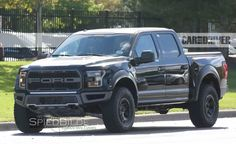 2017 Ford F-150 Raptor Spied in Production-Spec Four-Door SuperCrew Body - Photo Gallery of Car News from Car and Driver - Car Images - Car and Driver