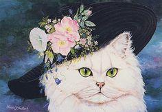 Cards, Cats-Art, ChristelLeVaillant- 07   Ernie   Flickr