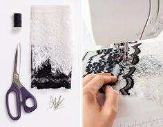 DIY Lace Fabric