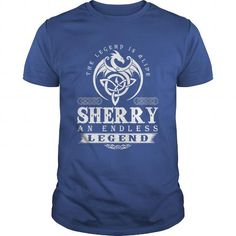The Legend Is Alive SHERRY An Endless Legend T Shirts, Hoodies, Sweatshirts. CHECK PRICE ==► https://www.sunfrog.com/Names/The-Legend-Is-Alive-SHERRY-An-Endless-Legend-Royal-Blue-Guys.html?41382
