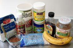 Healthy baking substitutions.