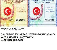 TC MERKEZ BANKASI UYARIYOR DİKKAT!