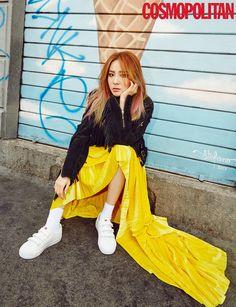 산다라박의 하루 Sandara Park for Cosmopolitan November 2016 Sandara 2ne1, Sandara Park, The Band, South Korean Girls, Korean Girl Groups, Chaelin Lee, 2ne1 Dara, Cosmopolitan Magazine, Korean Entertainment