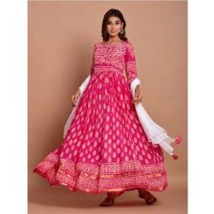 Buy Gowns - Discover the wide range of designer gowns online Party Wear Gowns Online, Gown Suit, Floor Length Gown, Anarkali Suits, Designer Gowns, Sarees Online, Print Design, Chiffon, Range