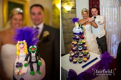Mytton Fold wedding photographs - Muppet cake!