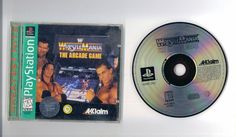 WRESTLEMANIA The Arcade Game Greatest Hits For Playstation Free S/H USA!
