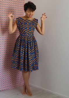 Super Fashion Model Back Ideas Short African Dresses, Latest African Fashion Dresses, African Inspired Fashion, African Print Dresses, African Print Fashion, Short Dresses, African Attire, African Wear, Ankara Clothing