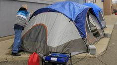 Some shoppers refuse to lose out on a bargain - even if it means camping out 24-7 for more than a week. (Story from 2013)