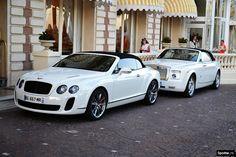 Bentley Continental GTC Supersports & Rolls Royce Phantom Drophead Coupè - what a pair