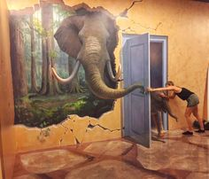 Artinus 3D Art Museum - Hô-Chi-Minh-Ville - Les avis sur Artinus 3D Art Museum - TripAdvisor Art Mural 3d, 3d Art Painting, 3d Wall Art, Painting Frames, 3d Street Art, Street Art Graffiti, Street Artists, 3d Art Museum, Trick Art Museum