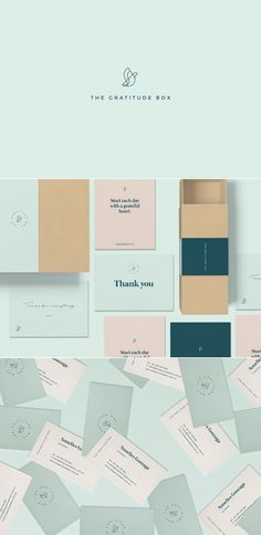 The Gratitude Box ~ branding by Madelyn Bilsborough
