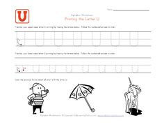 Tracing letter worksheets in landscape layout. We have one worksheet for each letter of the alphabet and they contain pictures to go with each letter. Each worksheet has uppercase and lowercase letters to trace. Letter Tracing Worksheets, Handwriting Worksheets, Tracing Letters, Uppercase And Lowercase Letters, Tracing Sheets, Printing Practice, Learning Stations, Preschool Learning, Lower Case Letters