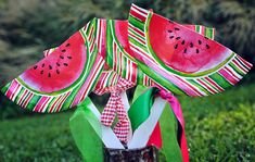 Watermelon theme birthday party decor ideas