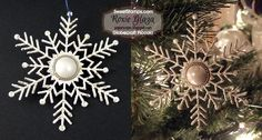 SweetStamps BLOG 12/2014, ANything but a card; ornament using Globecraft and Piccolo accents ; DT Roxie