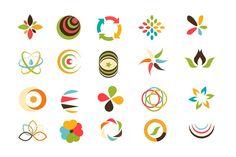 Abstract logo templates by CreativeToons on @creativemarket