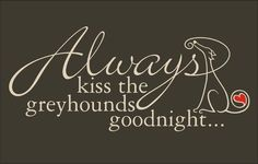 Goodnight kiss....