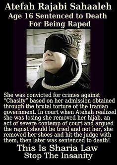 Sharia brings hell to peoples lives