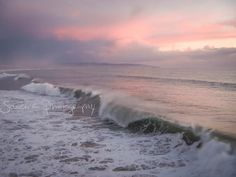 sunset beach photography gold golden pink by SouvenirPhotography