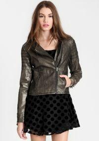 Lilou Faux Leather Jacket by BB Dakota