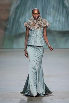 Monique Collignon Haute Couture Winter 2015 Model: Nella Roz
