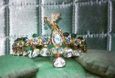 Emerald turban Pins of Nizam of Hyderabad