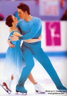 Ekaterina Gordeeva and her husband Sergei Grinkov - the most seemingly effortless, graceful and technically perfect ice skating pair to ever touch the ice ... and our hearts.