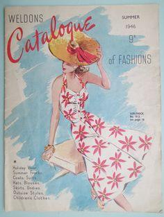 Weldons Catalogue of Fashions Summer 1946
