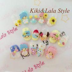 【Handmade】★Nail ★Kiki&Lala Style ★ #LittleTwinStars