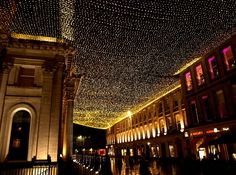 Glasgow Royal Exchange Square at night - Glasgow city centre - Wikipedia, the free encyclopedia