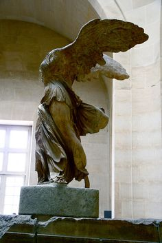 Louvre, Athena Nike One of my all time favorite Greek sculptures