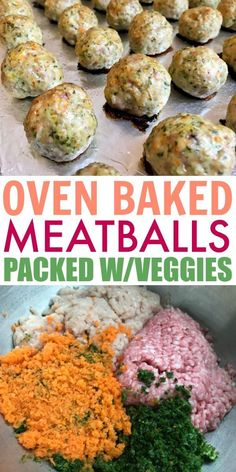 Flavorful Kid-Friendly Vegetable Baked Meatballs Recipe - These kid friendly meatballs are PACKED with veggies and flavor. Best new dinner recipe for picky e - Healthy Meals For Kids, Healthy Snacks, Easy Meals, Healthy Dinner For Kids Picky Eaters, Eating Healthy, Family Meal Ideas Picky Eaters, Kids Meals Ideas, Kids Dinner Ideas Healthy, Lunch Ideas