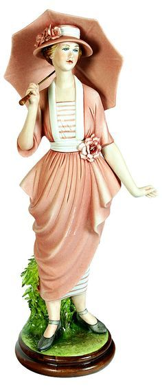 Porcelain Figurine - Lady in Pink.