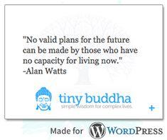 Tiny Buddha quote widget