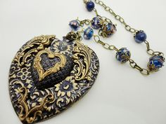 More charming sweetness from Brassy Steamington at Etsy.