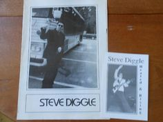 Steve Diggle Flag Of Convenience 4 page Promo Flyer & Postcard Buzzcocks related Promo Flyer, Rock Posters, Flag, Science, Flags
