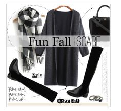 """It's a Wrap! Fun Fall Scarves"" by aurora-australis ❤ liked on Polyvore featuring Sheinside, scarf and polyvoreeditorial"