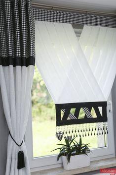 Curtain Patterns, Curtain Designs, Kitchen Curtains, Window Treatments, Windows, Living Room, Iris, Home Decor, Modern Curtains