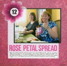 Cindy deRosier: My Creative Life: 43 New-to-Me ...#12 Rose Petal Spread