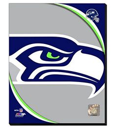 Seattle seahawks acrylic canvas painting perfect for the for Acrylic nail salon davenport ia