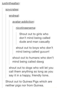 Tumblr shout outs funny