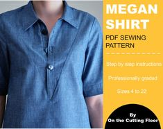 button up shirt patterns pdf