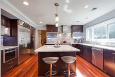 Check out our Kitchen Remodeling Gallery and Choose your Favorite Design.  #KitchenRemodeling #KitchenRemodel