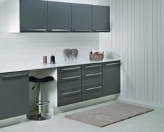 Berry Alloc, Kitchen Board, Slate, Kitchens, Kitchen Cabinets, Table, Inspiration, Furniture, Design