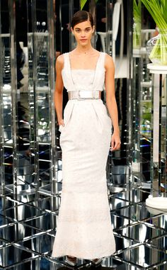 Chanel from Paris Haute Couture Fashion Week Spring/Summer 2017